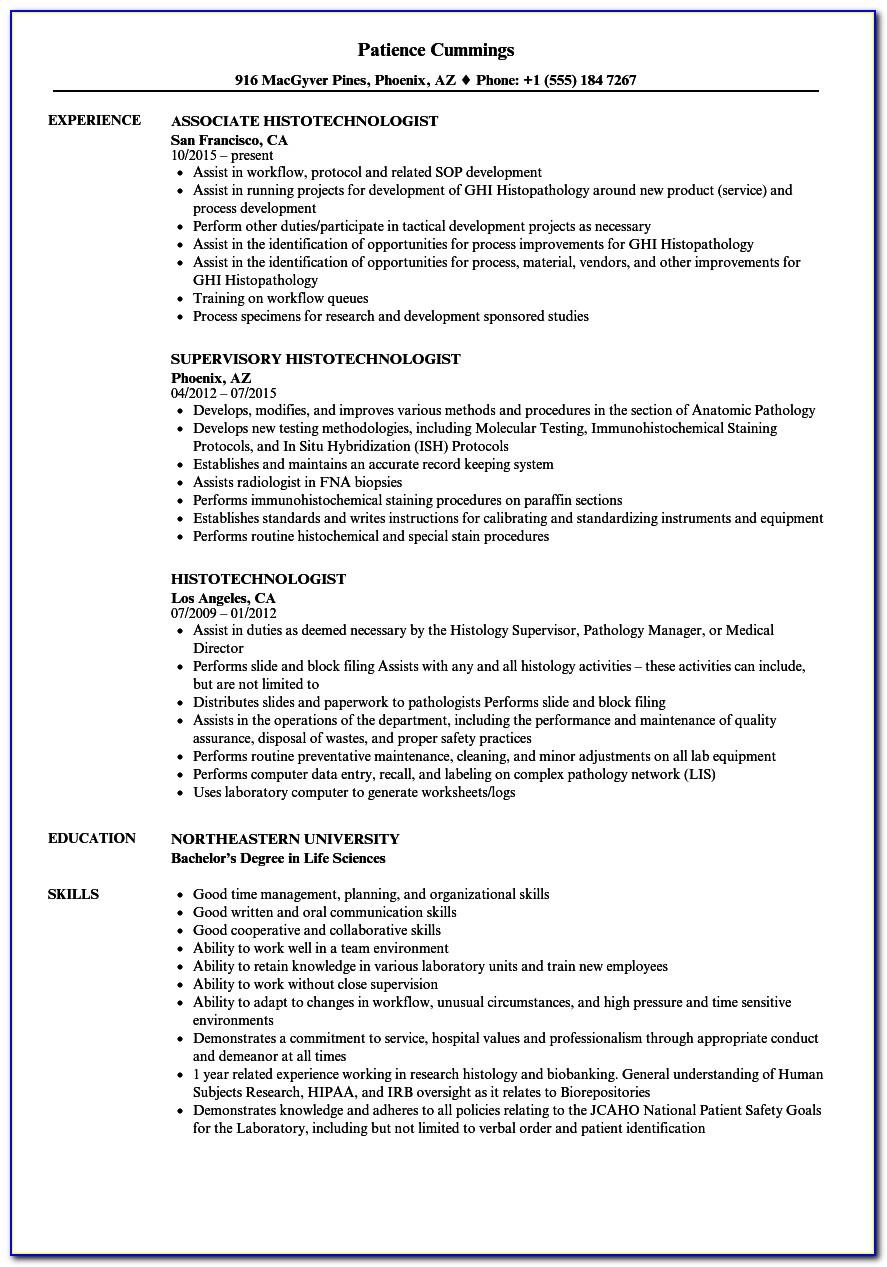 Histology Technician Certification Programs