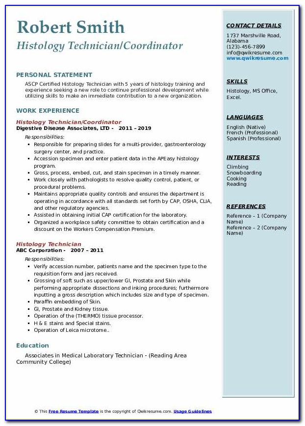 Histology Technician Certification Requirements