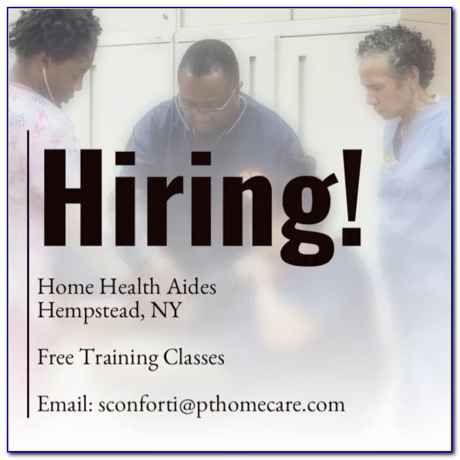 Home Health Aide Certification Nyc Free