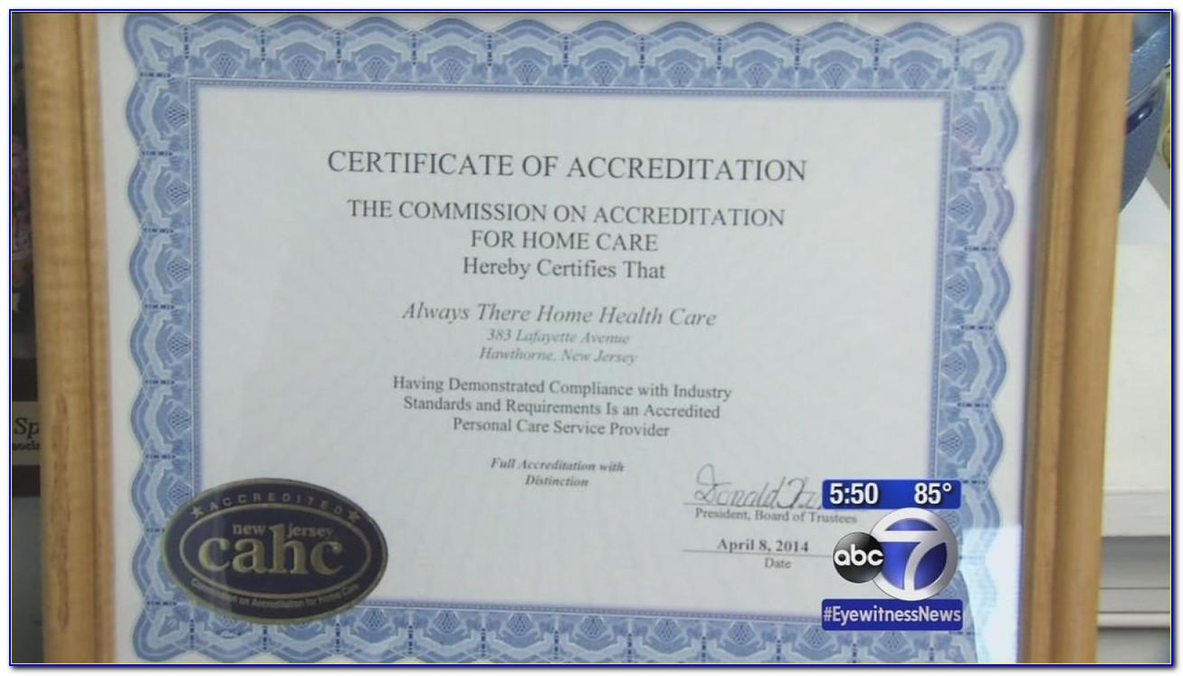Home Health Aide Certification Nyc