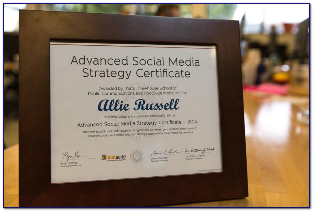 Hootsuite Social Media Certification Answers Quizlet