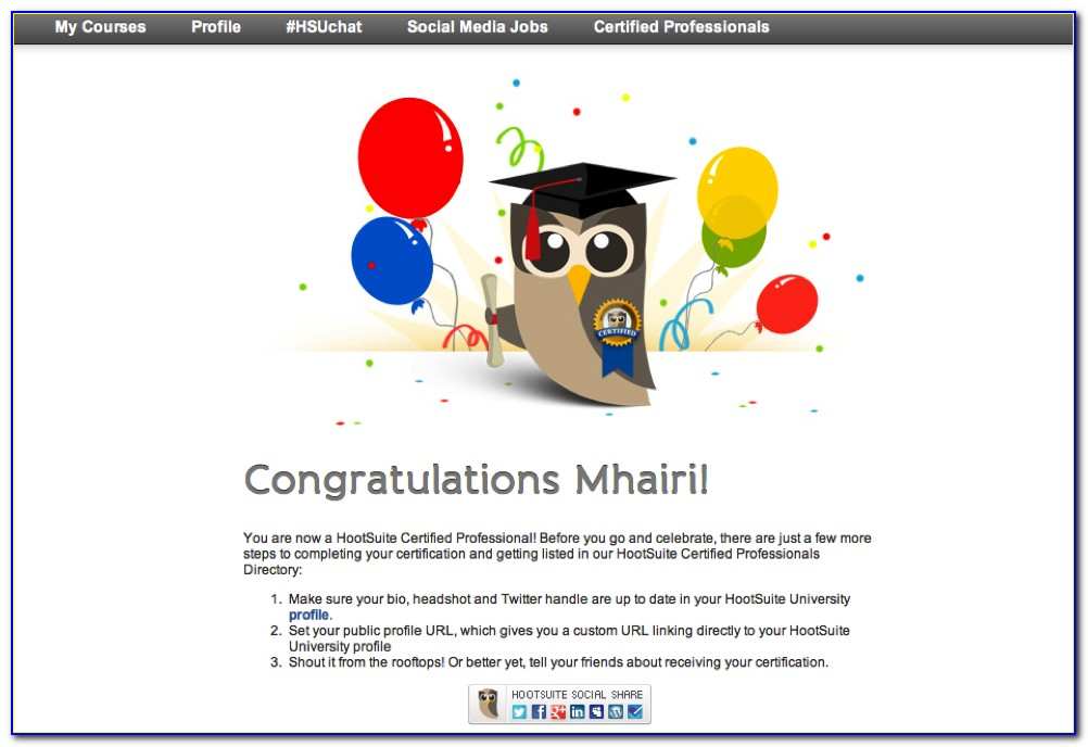 Hootsuite Social Media Certification Reviews