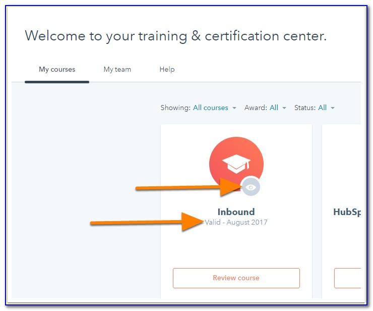 Hubspot Academy Certification Login