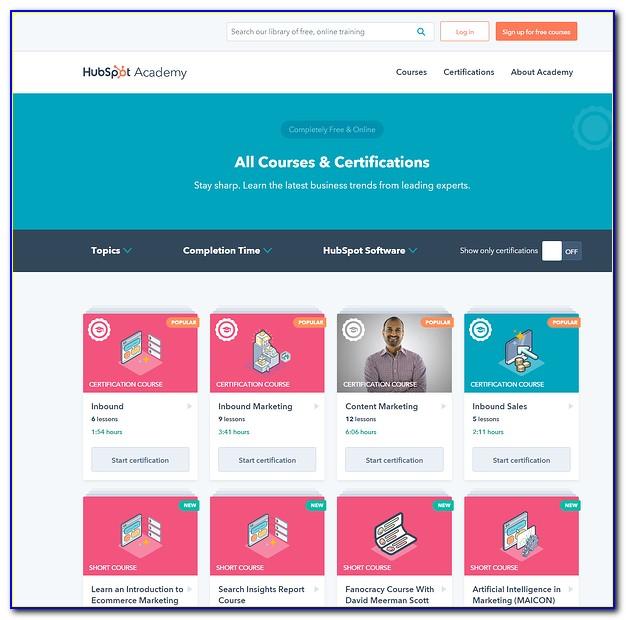 Hubspot Academy Social Media Certification Answers