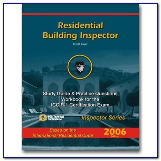 Icc Building Inspector Certification