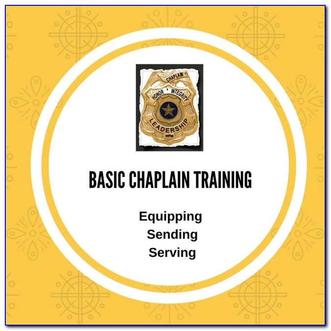 Interfaith Chaplain Certification Online