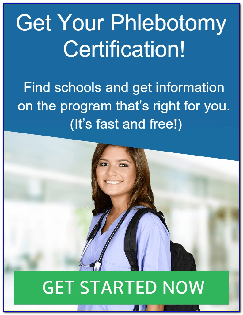 Iv Certification Vs Phlebotomist