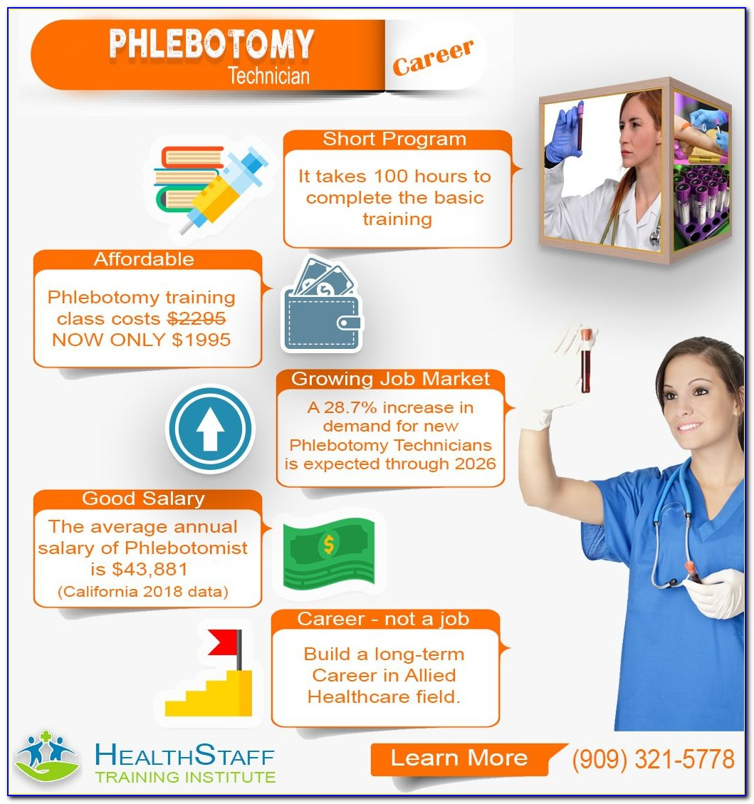 Iv Therapy Certification For Phlebotomist