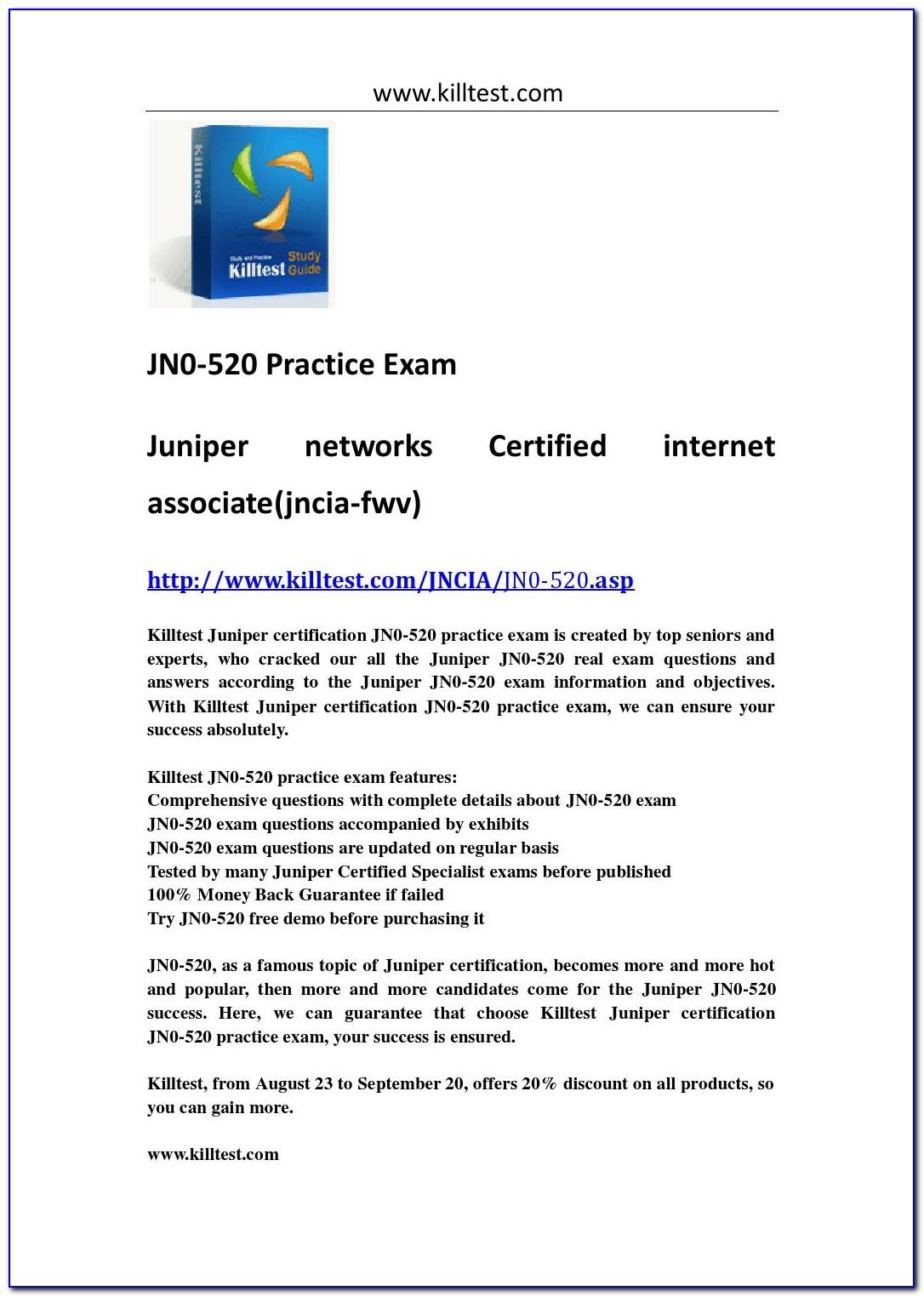 Juniper Certification Track Login