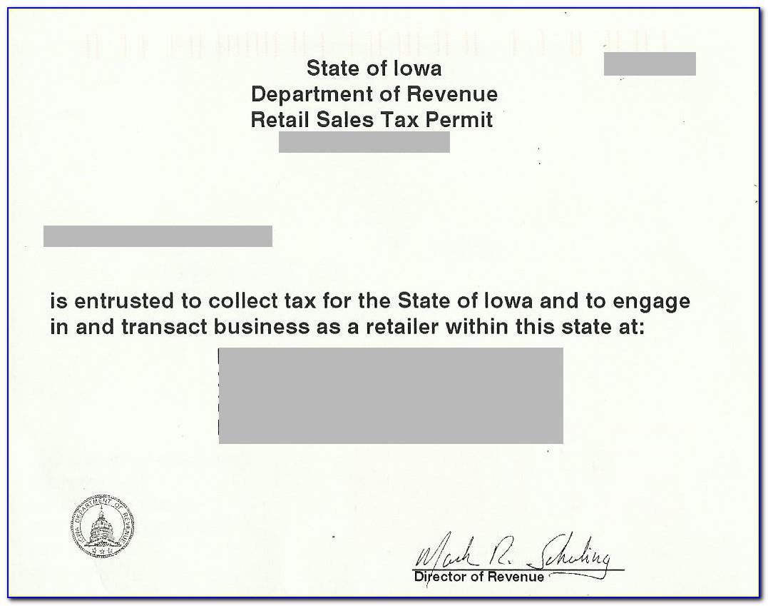 Kansas Resale Certificate St 28m