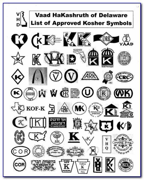 Kashrus Kosher Symbols