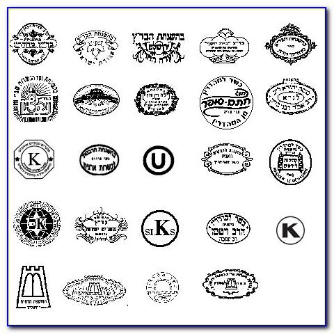 Kosher Certification Symbols Usa