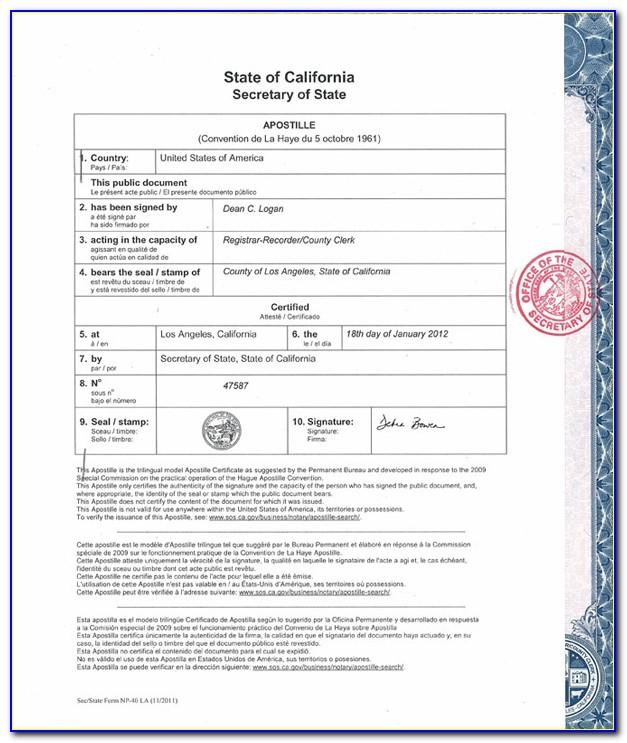 La County Registrar Birth Certificate Application