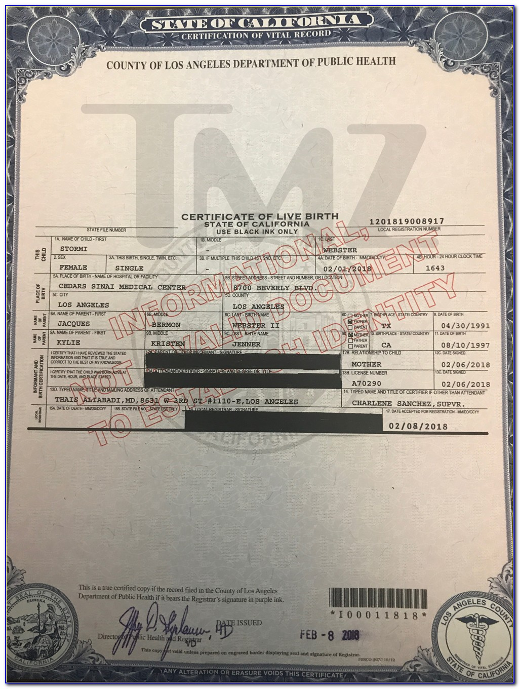 Lax Courthouse Birth Certificate Application