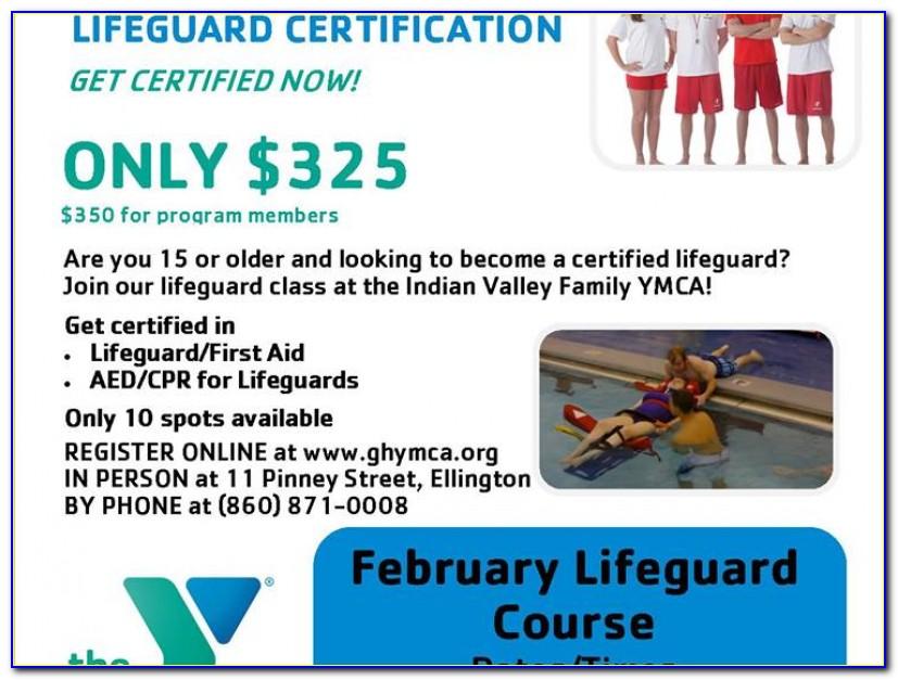 Lifeguard Certification Fairfield Ct