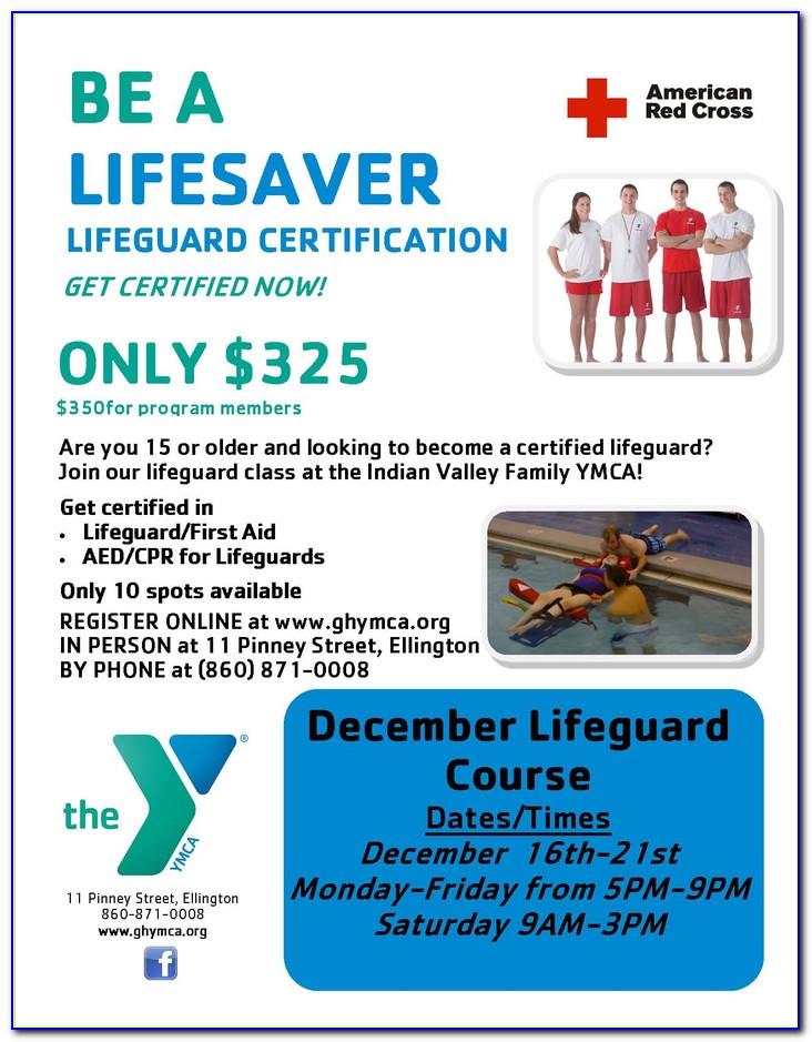 Lifeguard Certification Greenwich Ct