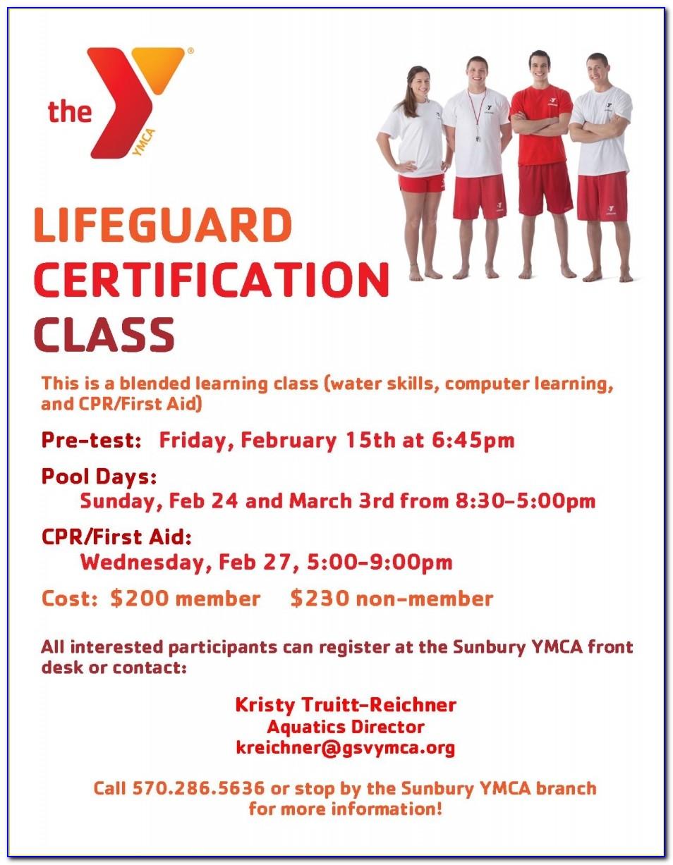 Lifeguard Certification Norwalk Ct