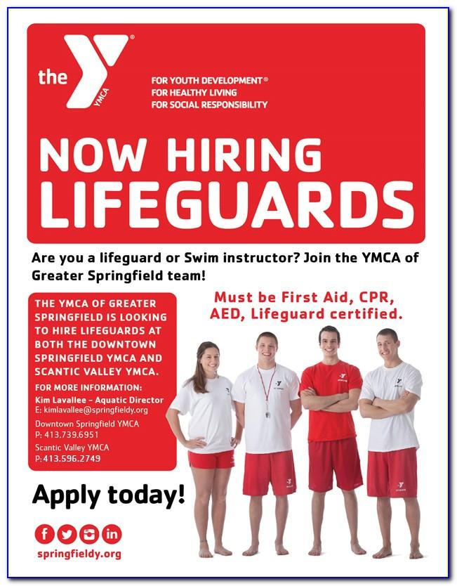 Lifeguard Certification Ridgefield Ct