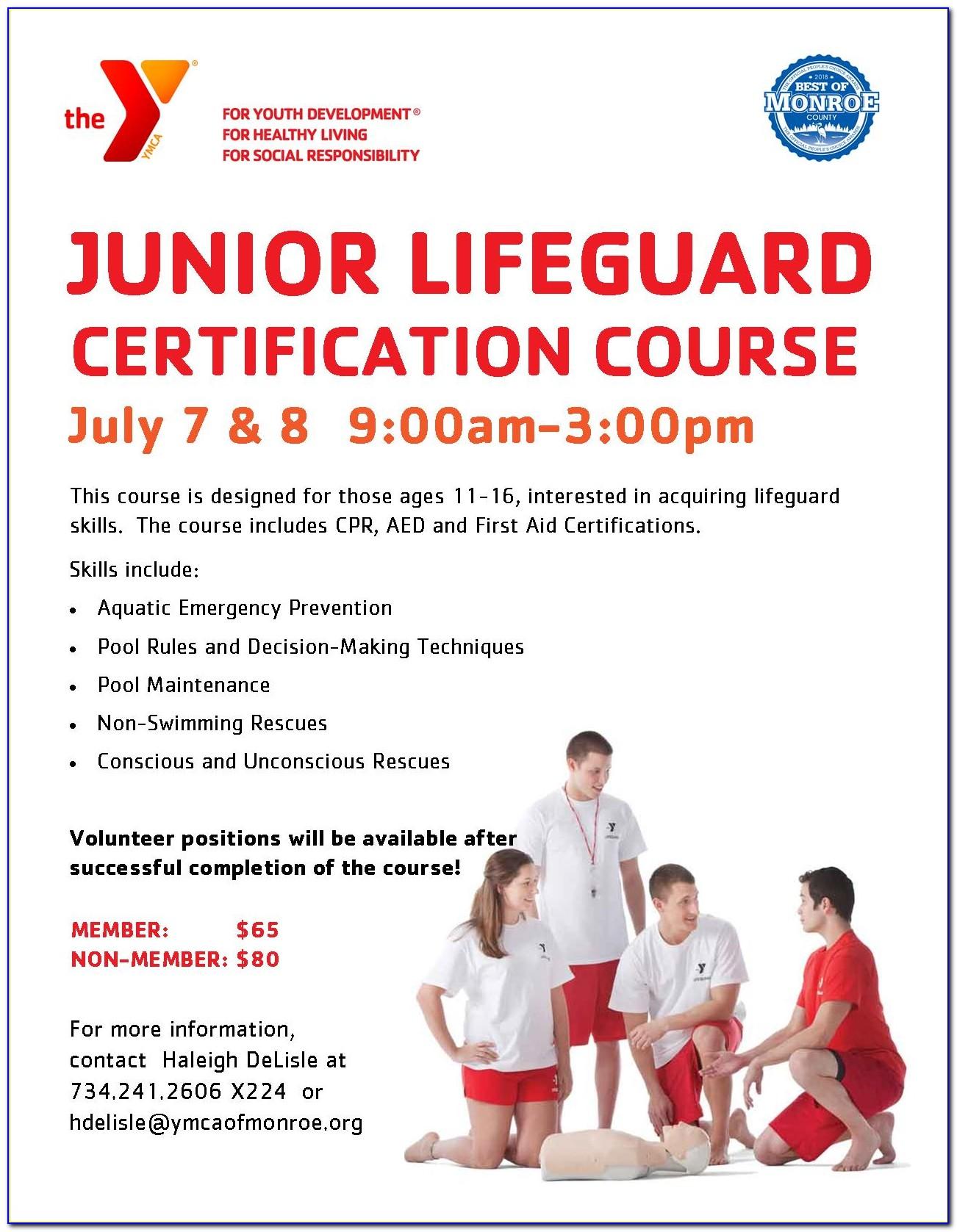 Lifeguard Classes Ct