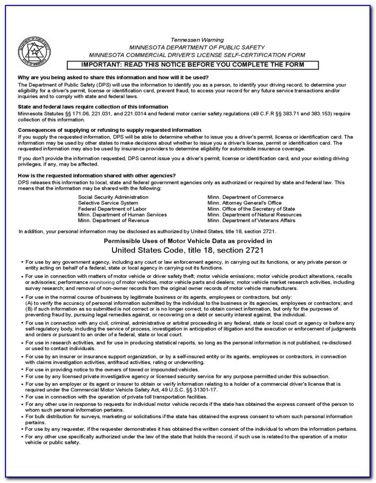 Mass Cdl Self Certification Online