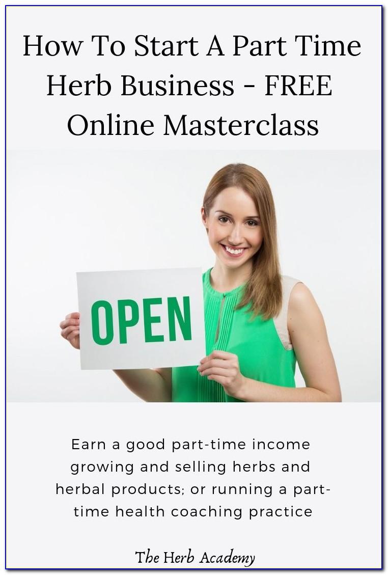 Master Herbalist Training Online