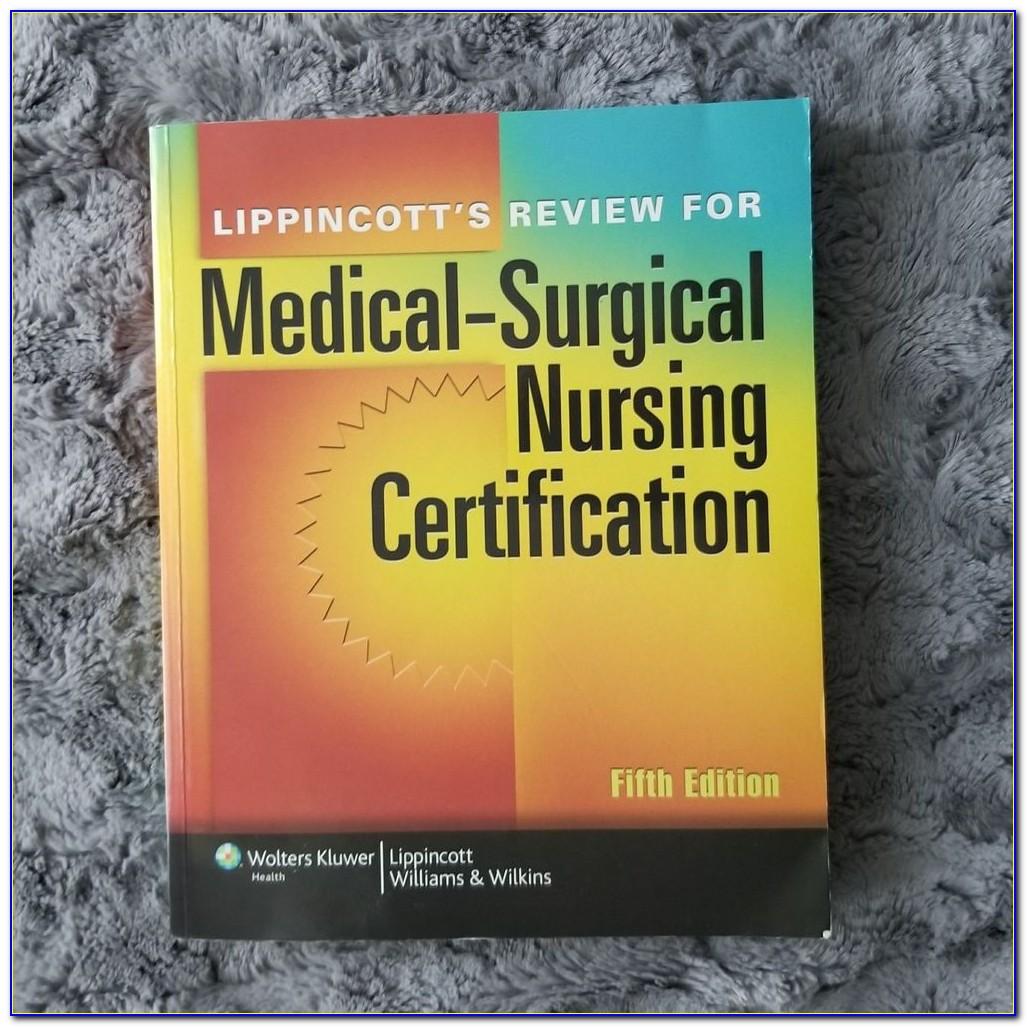 Med Surg Certification Review Book Pdf