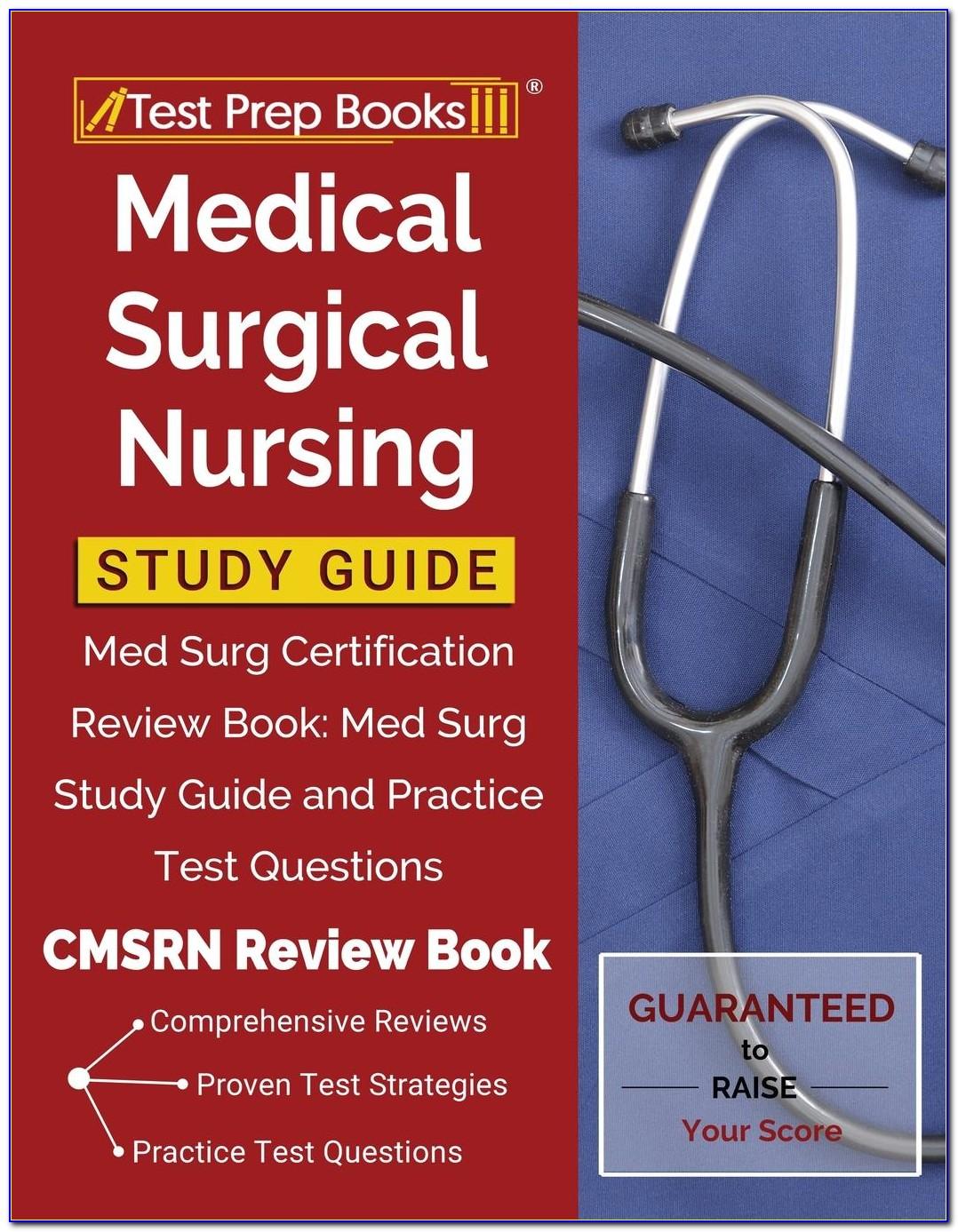Med Surg Nursing Certification Book