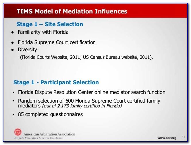 Mediation Certification Renewal Florida