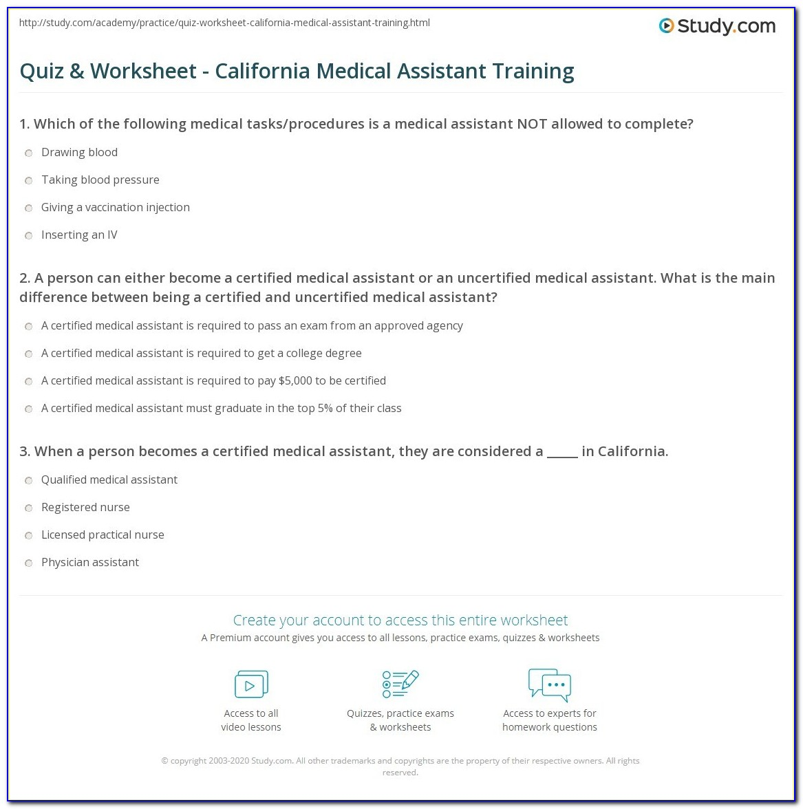 Medical Administrative Assistant Certification Study Guide