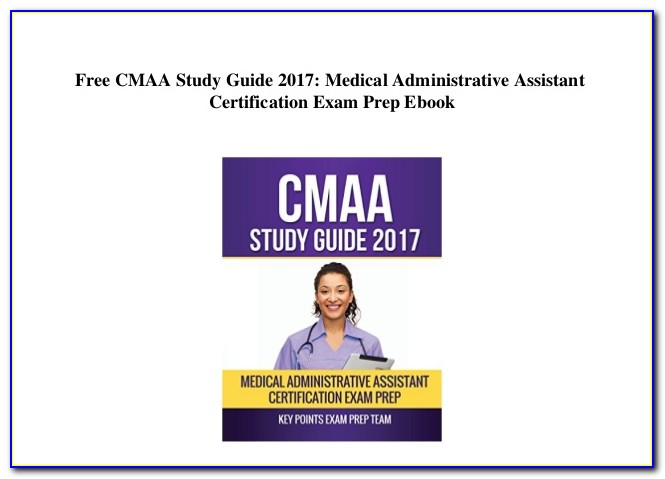 Medical Assistant Certification Study Guide 2018
