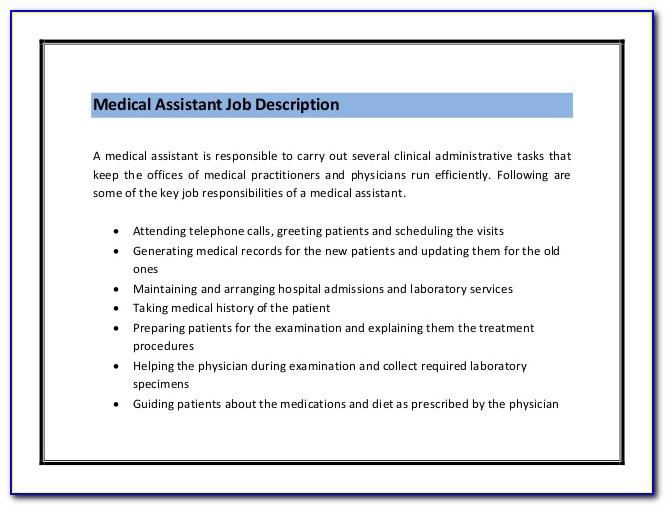 Medical Assistant Jobs Certification