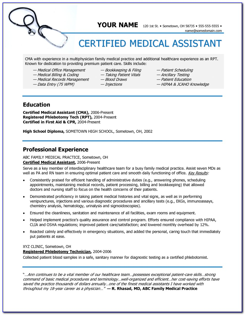 Medical Assistant Jobs Near Me No Certification Required
