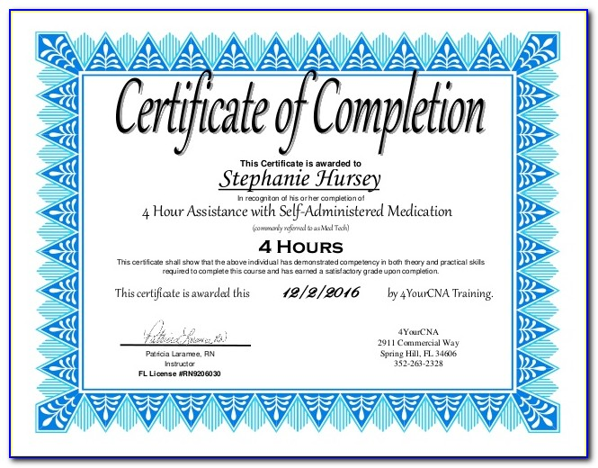 Medication Administration Certification Classes