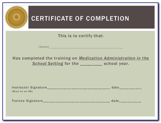 Medication Administration Training Certification Florida