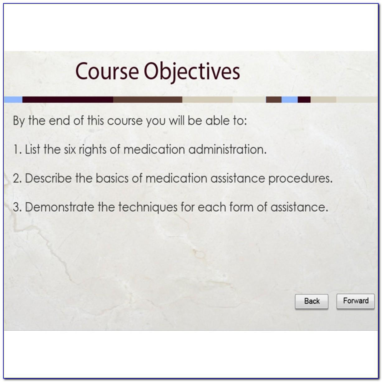 Medication Administration Training Certification Virginia