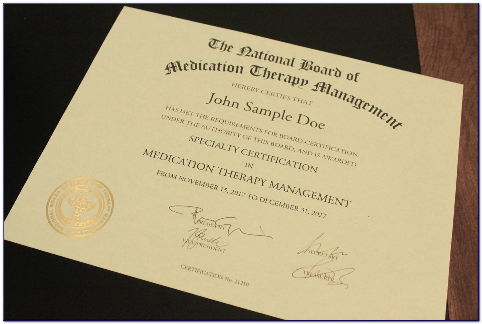Medication Administration Training Certification