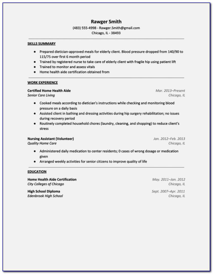Medication Aide Certification Online Georgia
