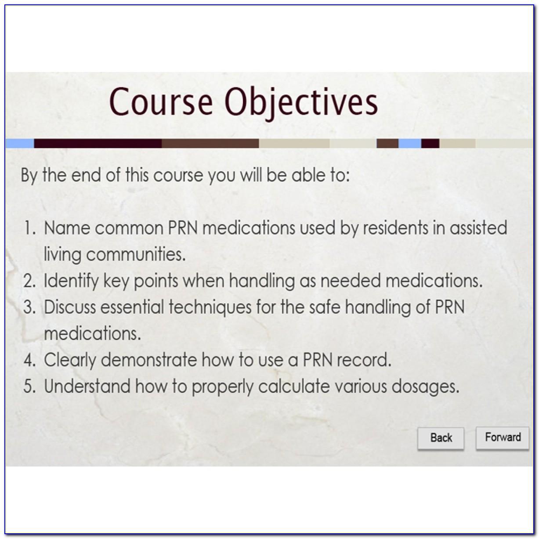 Medication Aide Certification Verification Texas