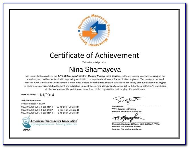 Mtm Training For Pharmacists