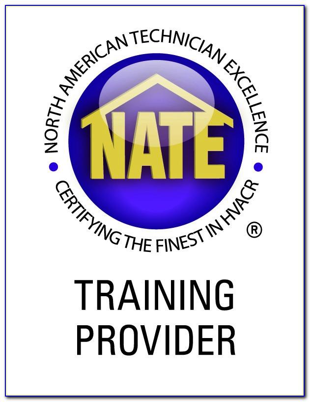 Nate Hvac Certification Online