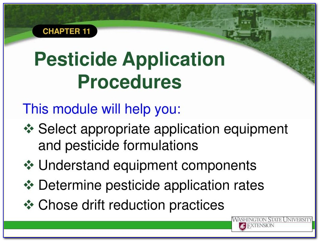 National Pesticide Applicator Certification Core Manual Audio