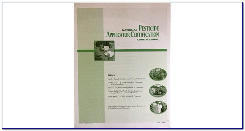 National Pesticide Applicator Certification Core Manual Audiobook