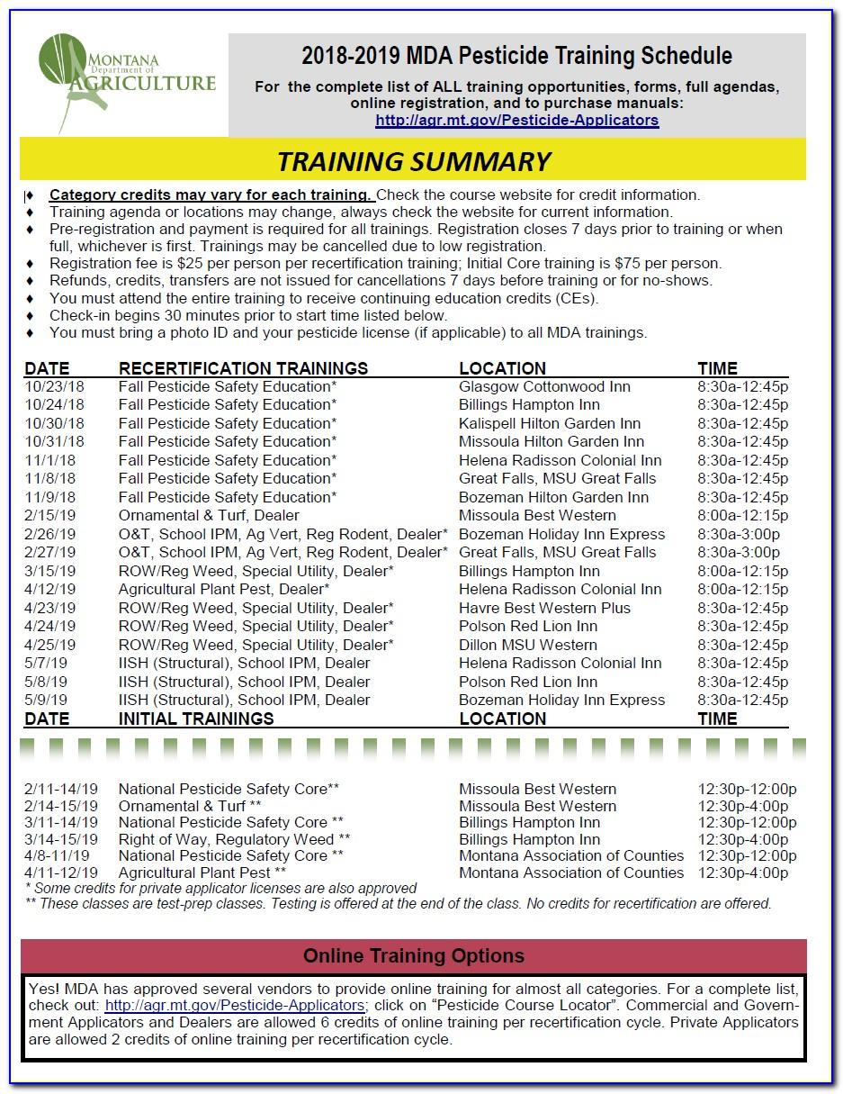 National Pesticide Applicator Certification Core Manual Utah