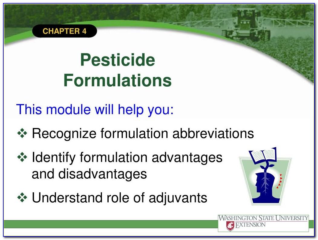 National Pesticide Applicator Certification Core Manual Video