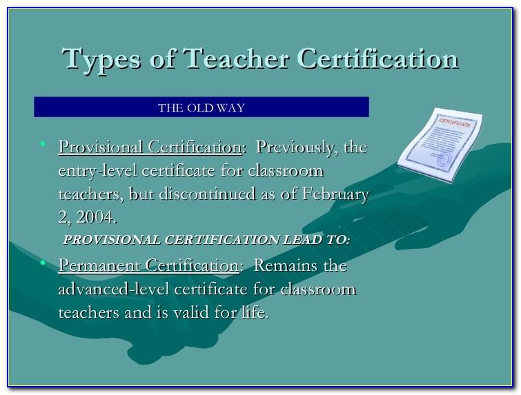 New York State Teacher Certification Test Scores