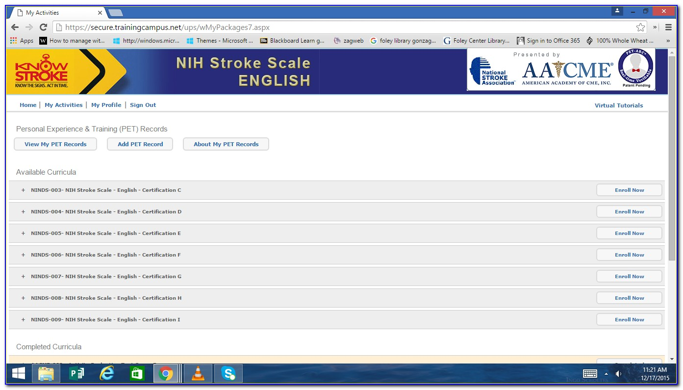 Nihss Certification Test Answers Group A