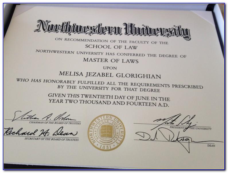 Northwestern Certificate Programs