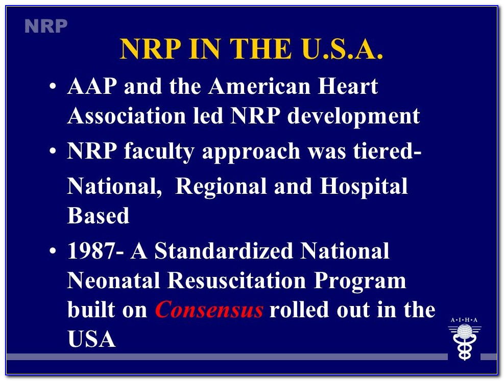 Nrp Certification Classes Online