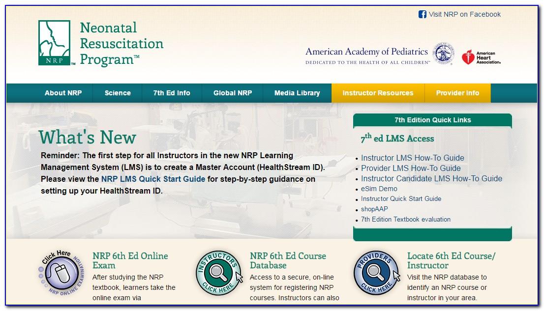 Nrp Certification Online Aha
