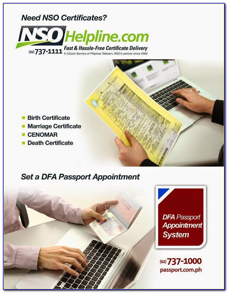 Nso Birth Certificate Number Location
